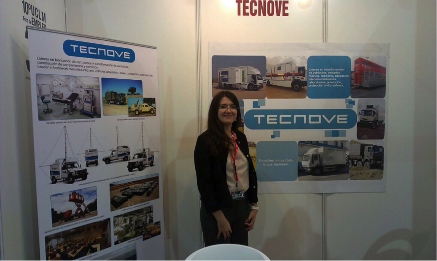 stand TECNOVE Foro de Empleo UCLM