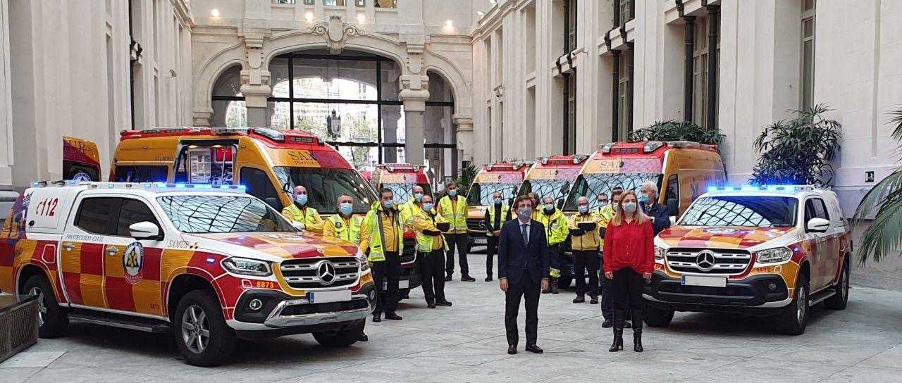 Delivery of Samur Vehicles to Madrid City Council